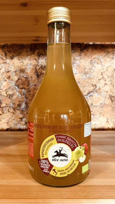 Ocet jabłkowy 5% niefiltrowany EKO