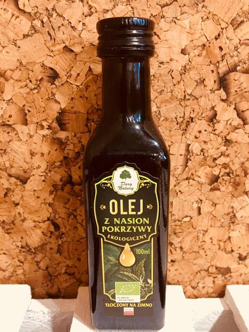 Olej z nasion pokrzywy EKO