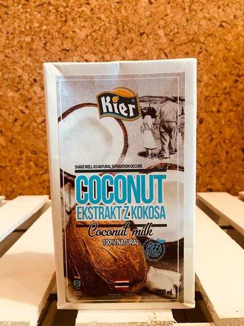 Napój kokosowy gęsty