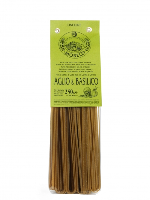 Linguine aglio & basilico