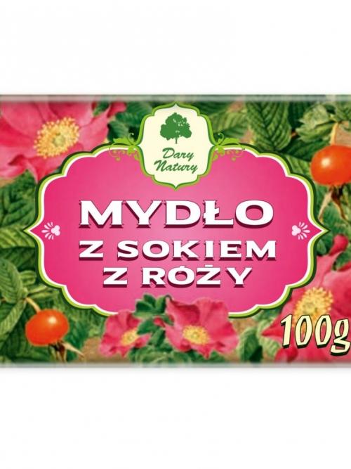 Mydło z sokiem z Róży 100g