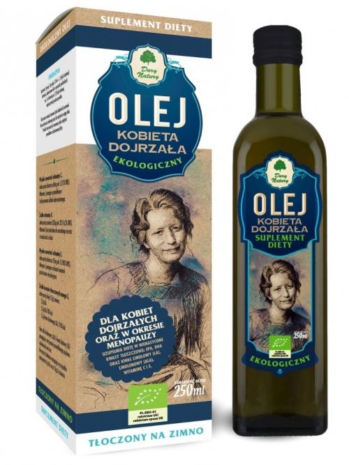 Olej Kobieta dojrzała EKO 250ml - Suplement diety
