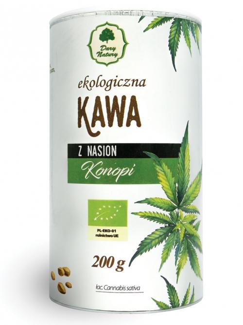 Kawa z nasion konopi EKO (tuba) 200g