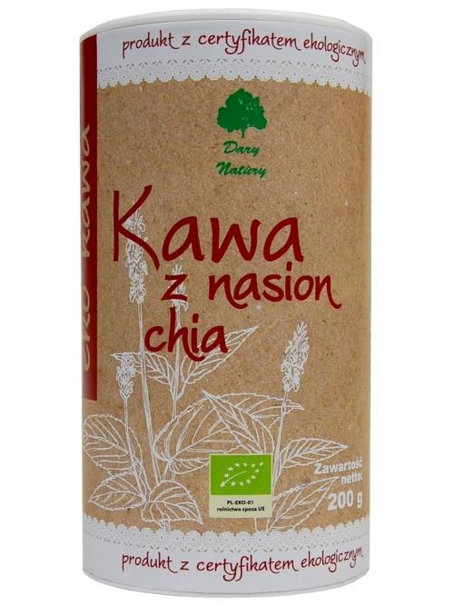 Kawa z nasion Chia EKO (tuba) 200g