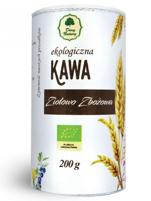 Kawa ziołowo-zbożowa EKO (tuba) 200g
