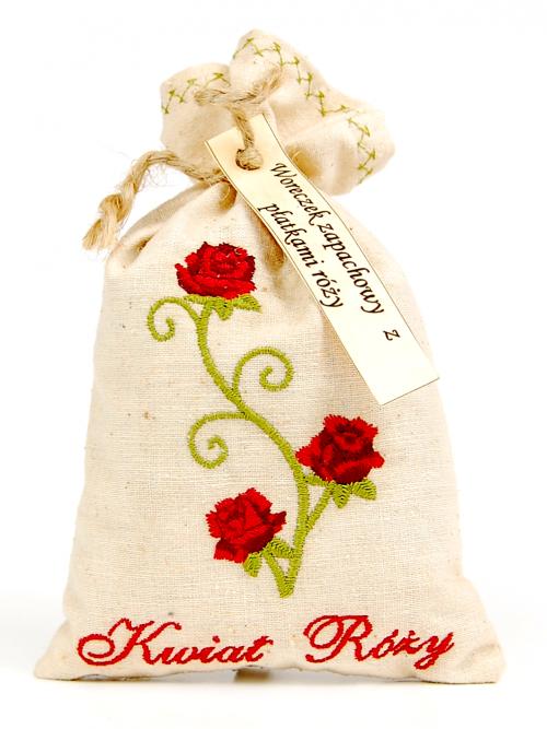 Woreczek zapachowy z różą