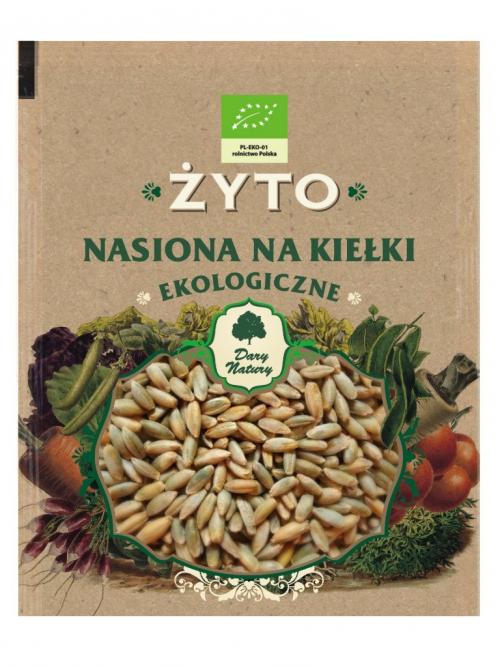 EKO nasiona na kiełki żyto 50g
