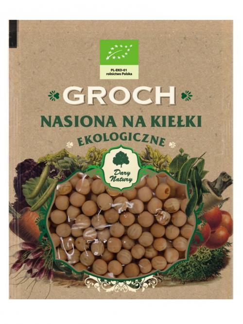 EKO nasiona na kiełki Groch 50g