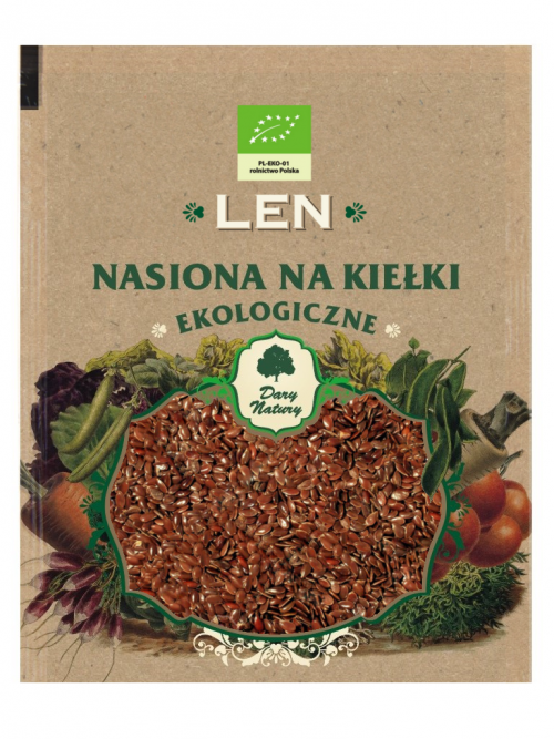 EKO nasiona na kiełki Len 30g