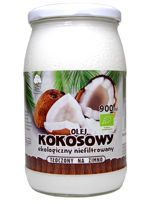 Olej kokosowy EKO 900ml