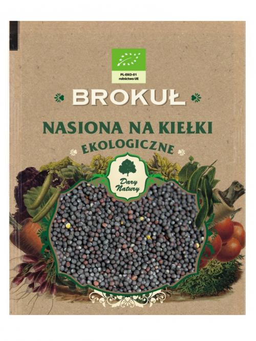 EKO nasiona na kiełki Brokuł 30g