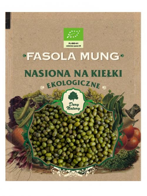 EKO nasiona na kiełki Fasola MUNG 50g