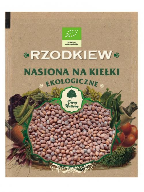 EKO nasiona na kiełki Rzodkiew 30g