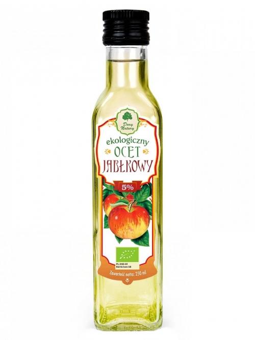 Ocet jabłkowy 5% EKO | Dary Natury