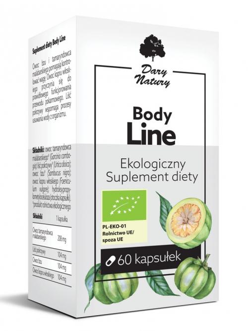 Body Line EKO 60 kapsułek - Suplement diety | Dary Natury