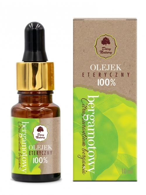 Olejek eteryczny -  bergamotowy 100% 10ml | Dary Natury