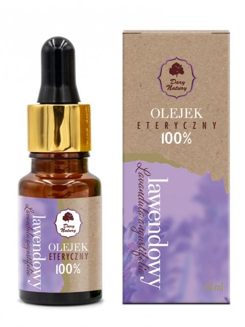 Olejek eteryczny - lawendowy 100% 10ml | Dary Natury