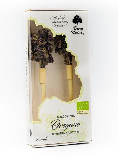 Herbatka na patyku Oregano EKO 2x4,6g   Dary Natury