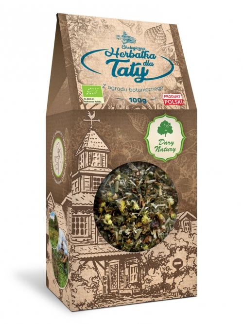 Herbatka dla Taty EKO 100g   Dary Natury