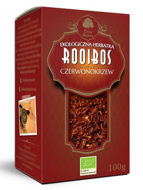 Herbata Rooibos EKO 100g   Dary Natury