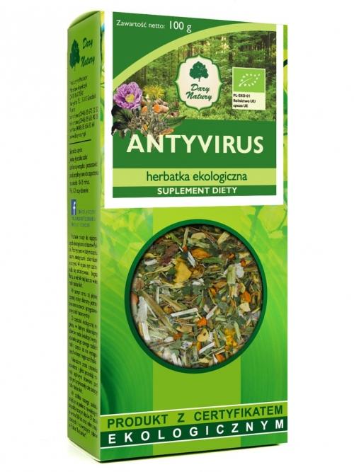 Herbatka Antyvirus EKO 100g   Dary Natury