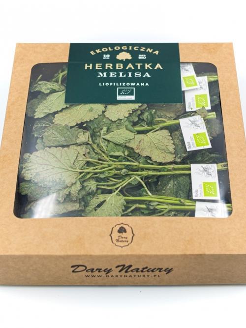 Liofilizowana herbatka Melisa EKO 10x1g   Dary Natury